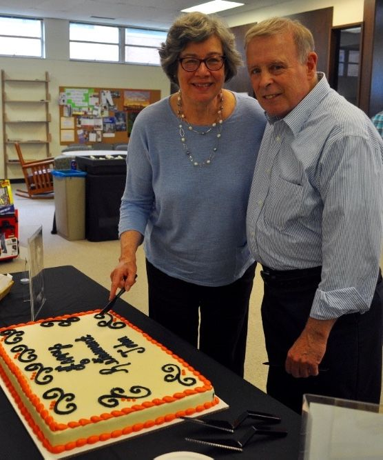 Congratulations John Tomasetti on his 46 years teaching!