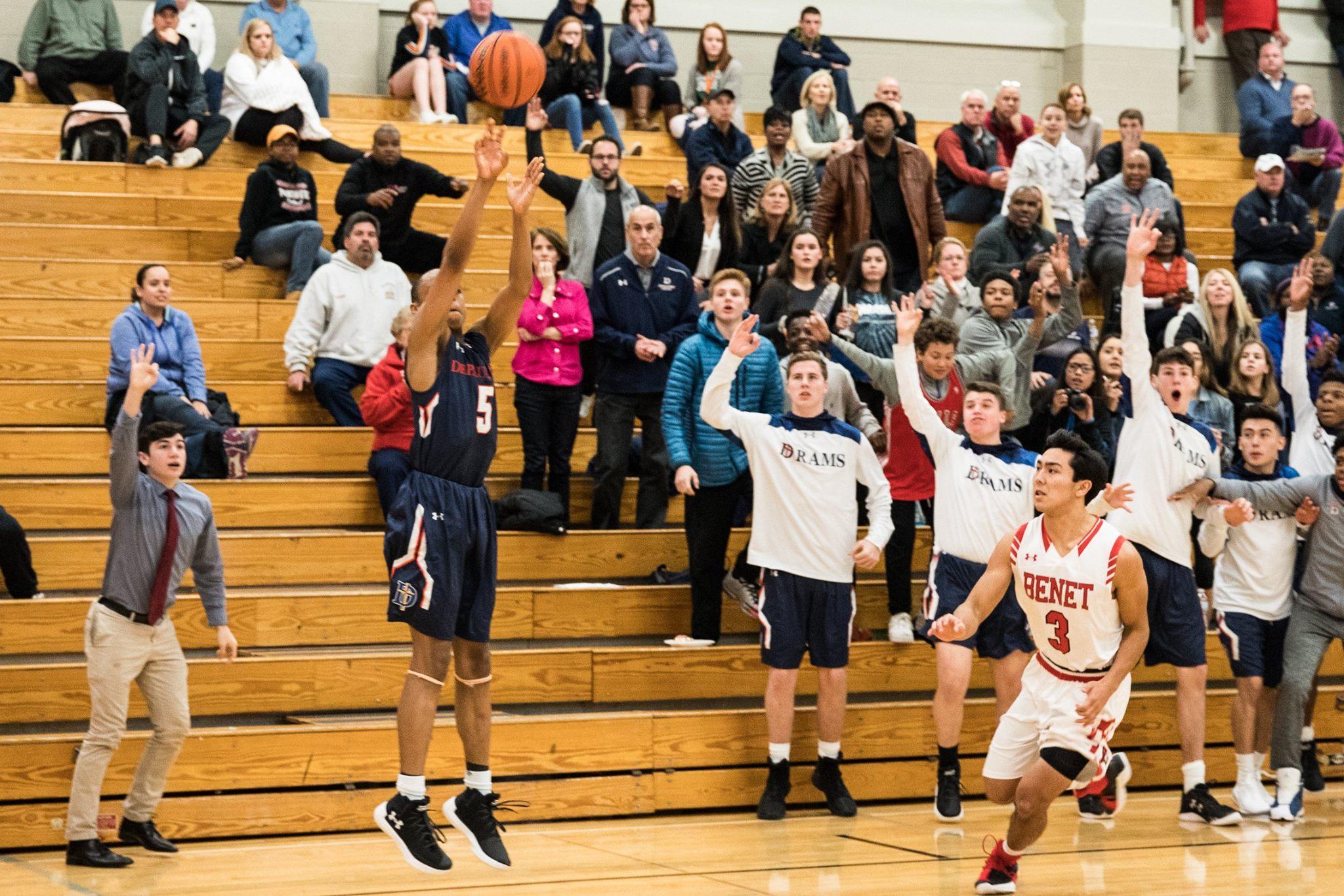 boys basketball - depaul college prep